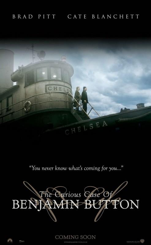 Una suggestiva locandina del film The Curious Case of Benjamin Button