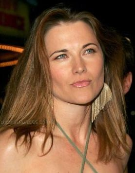 primo piano di Lucy Lawless