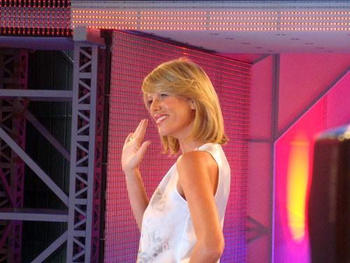 Alessia Marcuzzi presenta Grande Fratello 9, in onda dal 12 gennaio 2009 su Canale 5
