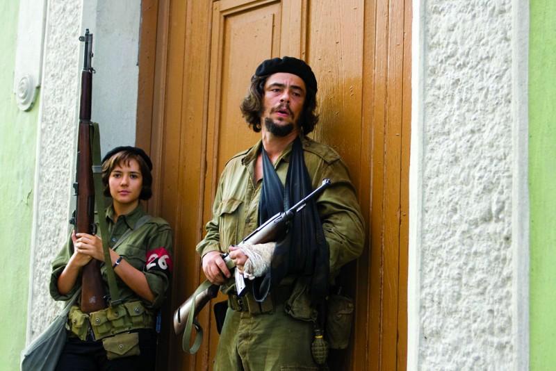 Benicio Del Toro in una scena di Che - L'Argentino
