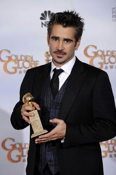 Colin Farrell premiato come miglior attore nella commedia In Bruges ai Golden Globes 2009