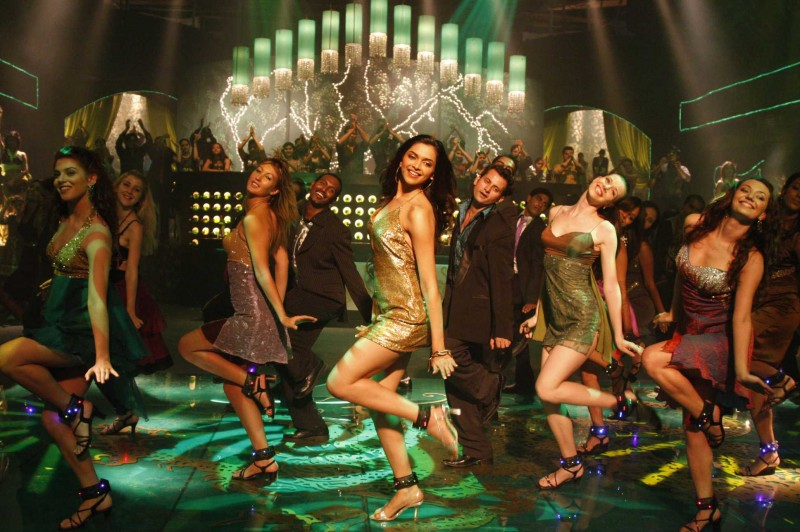 Deepika Padukone in una sequenza del film Chandni Chowk to China