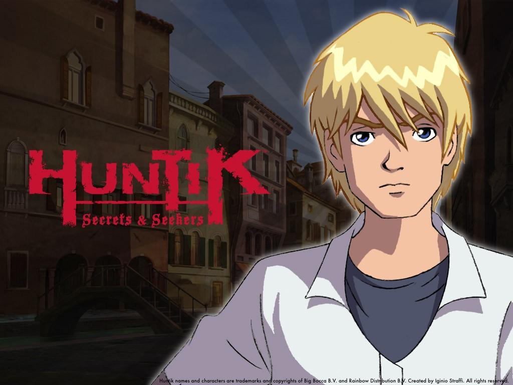 Il personaggio di Lok Lambert in un wallpaper della serie Huntik