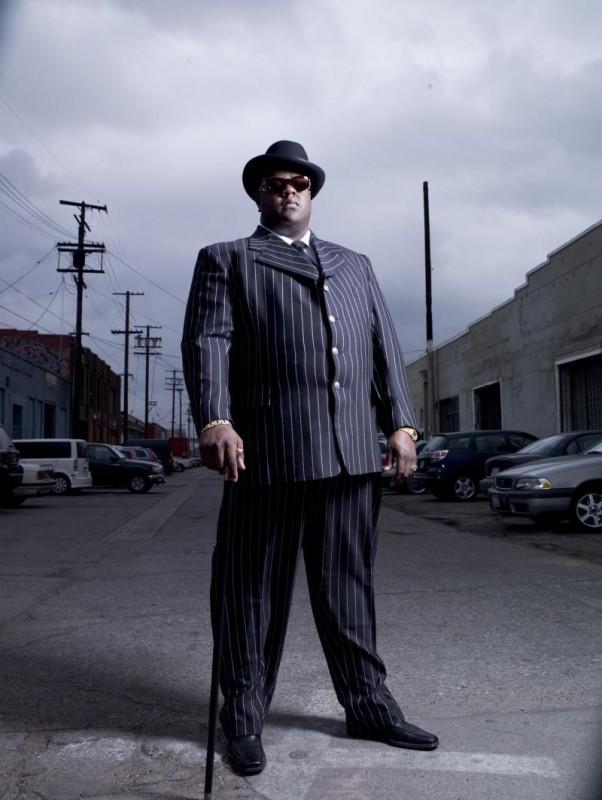 Jamal Woolard interpreta il rapper Notorious B.I.G. nel biopic Notorious