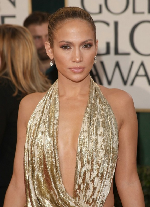 Jennifer Lopez ai Golden Globes 2009