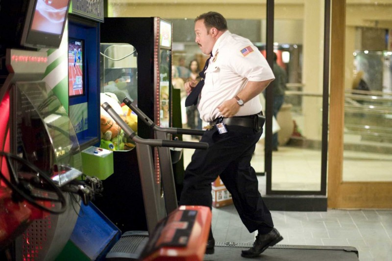 Kevin James è il protagonista di Paul Blart: Mall Cop
