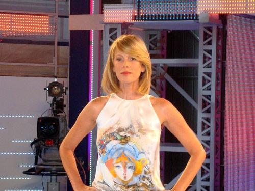 La Marcuzzi presenta Grande Fratello 9, in onda da lunedì 12 gennaio 2009 su Canale 5