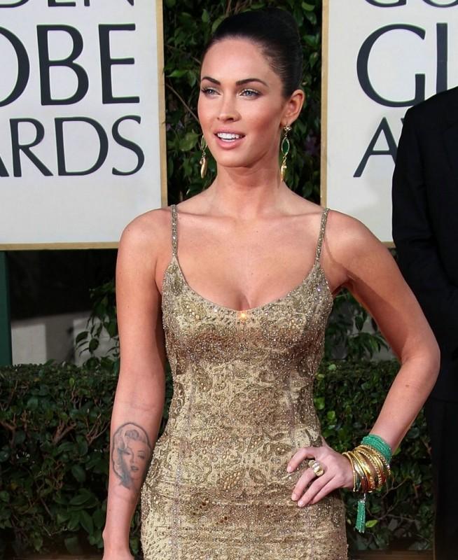 Megan Fox sul tappeto rosso dei Golden Globes 2009