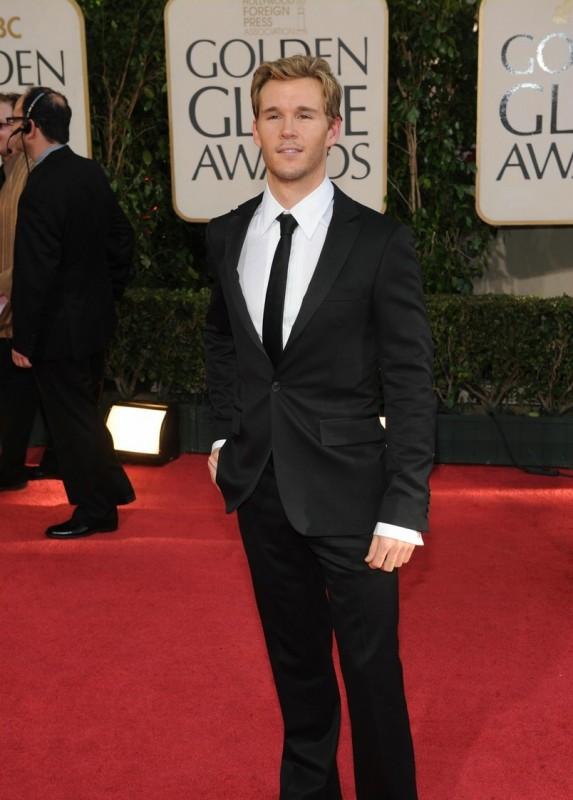Ryan Kwanten, uno degli attori di True Blood, sfila sul red carpet dei Golden Globes 2009