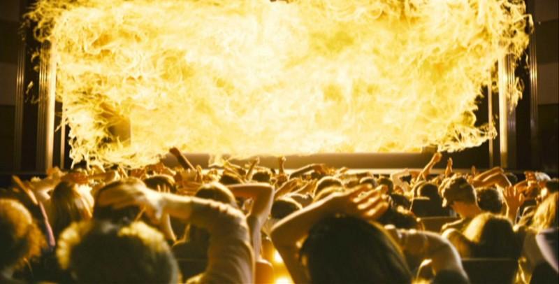 Una scena del film My Bloody Valentine 3D