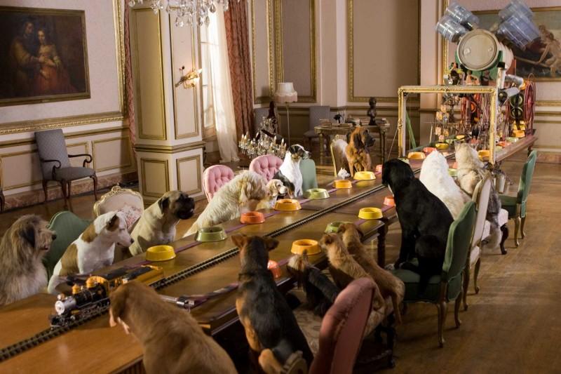 Una scena della commedia cinofila Hotel Bau