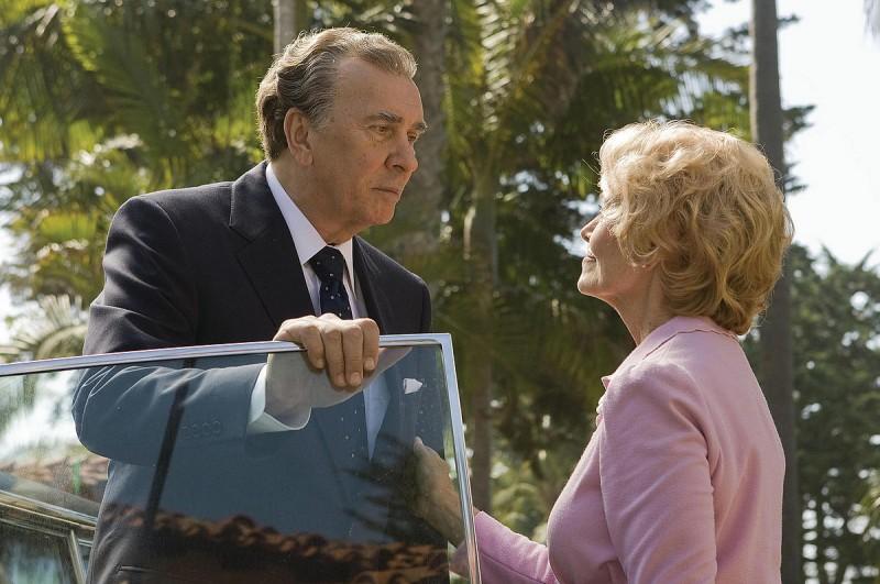 Frank Langella in una scena di Frost/Nixon - Il duello