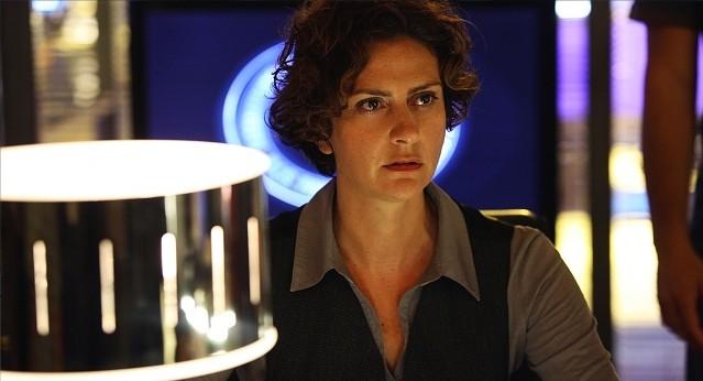 Gea Lionello in una scena della stagione 5 di R.I.S. - Delitti imperfetti