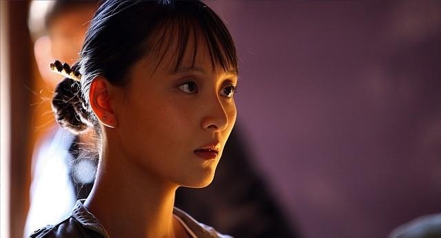 Jun Ichikawa in una scena della stagione 5 di R.I.S. - Delitti imperfetti