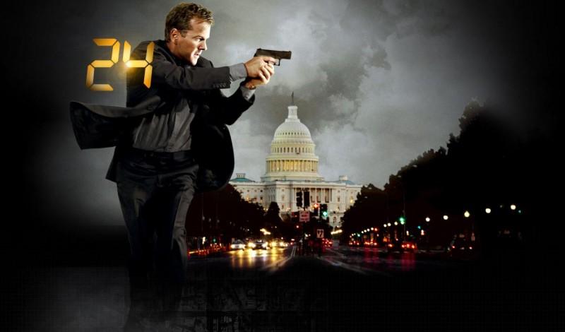 Kiefer Sutherland in una immagine promozionale della settima stagione di 24