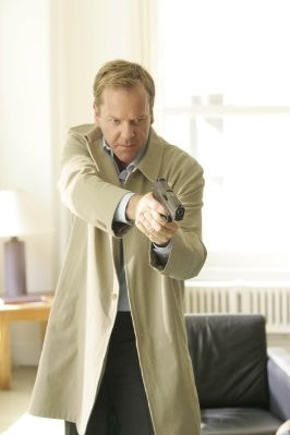Kiefer Sutherland in una scena del primo episodio del Day 7 di 24