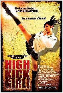 La locandina di High Kick Girl