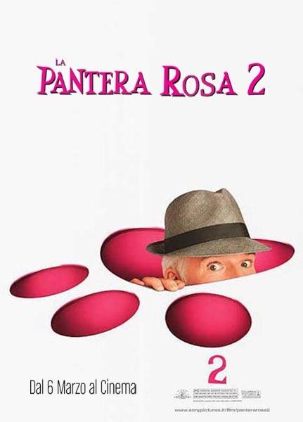 La locandina italiana del film La pantera rosa 2