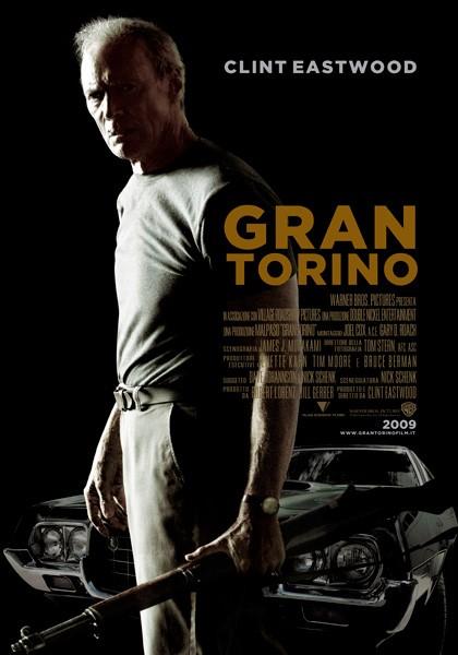 La locandina italiana di Gran Torino