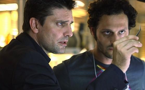 Lorenzo Flaherty e Fabio Troiano nella stagione 5 di R.I.S. - Delitti imperfetti