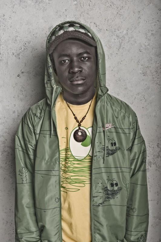 Merveille Lukeba interpreta Thomas Tomone nella terza stagione della serie tv Skins
