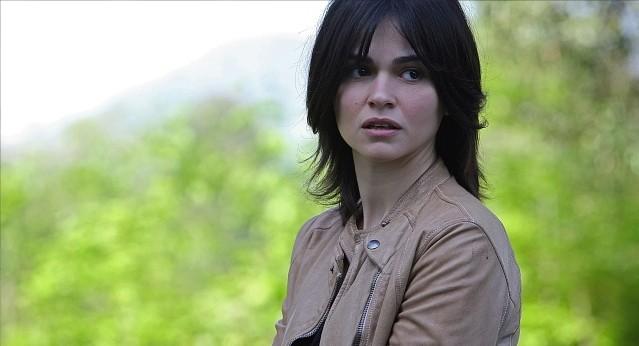 Romina Mondello in una scena della stagione 5 di R.I.S. - Delitti imperfetti
