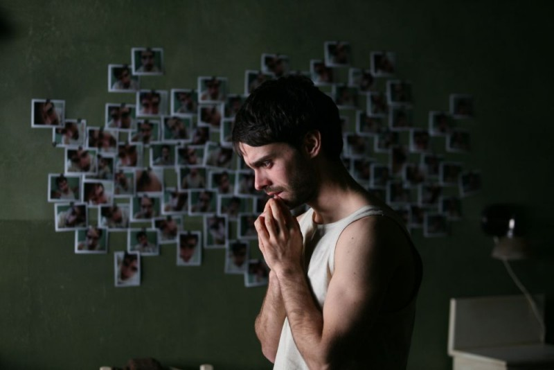 Alberto Amarilla in un'immagine del film Imago Mortis