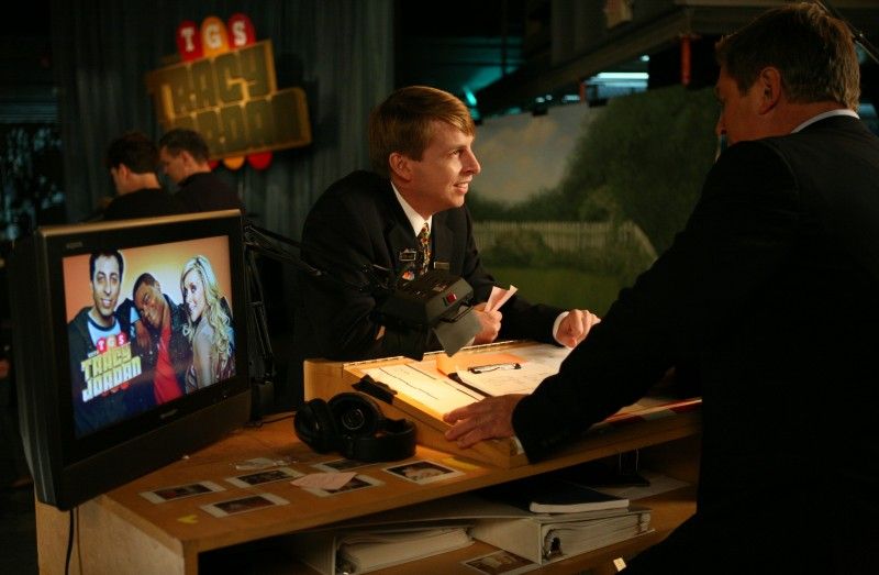 Alec Baldwin e Jack McBrayer nell'episodio Flu Shot di 30 Rock