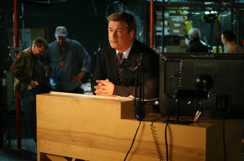Alec Baldwin in una scena dell'episodio Flu Shot di 30 Rock