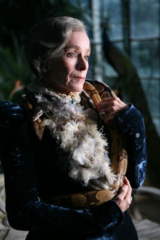 Geraldine Chaplin in una scena di Imago Mortis