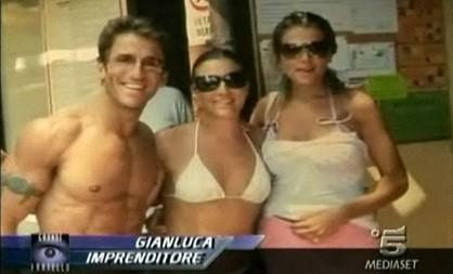 Grande Fratello 9: Gianluca Zito durante la sua presentazione nella prima puntata
