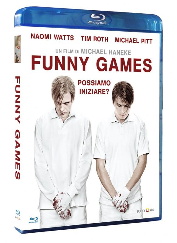 La copertina di Funny Games (blu-ray)