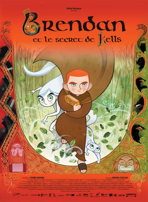 La locandina di Brendan and the Secret of Kells