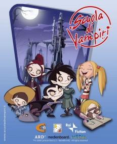La locandina di Scuola di vampiri