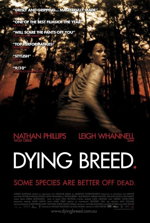 Nuovo poster per Dying Breed