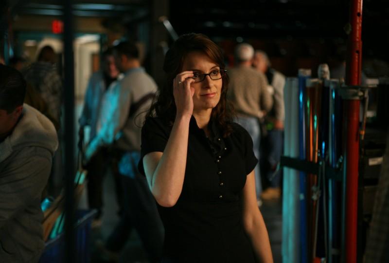Tina Fey in una scena dell'episodio Flu Shot di 30 Rock