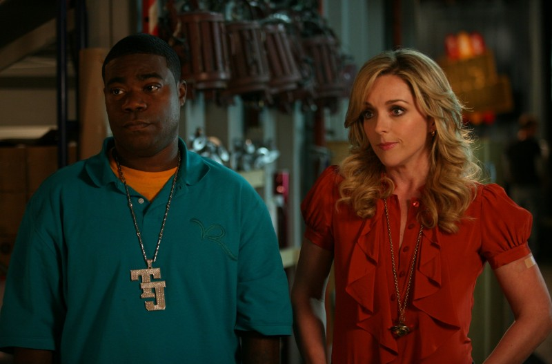 Tracy Morgan e Jane Krakowski nell'episodio Flu Shot di 30 Rock