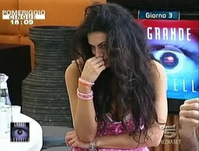 Grande Fratello 9 - giorno 3: Cristina Del Basso