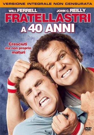 La copertina di Fratellastri  a 40 anni (dvd)