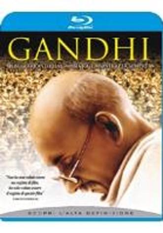 La copertina di Gandhi (blu-ray)
