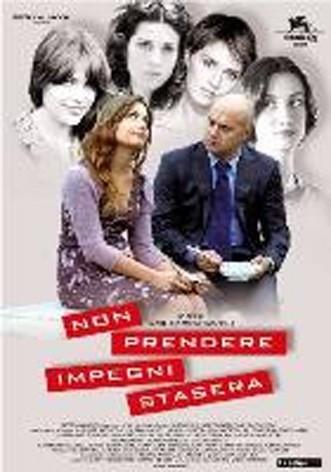 La copertina di Non prendere impegni stasera (dvd)