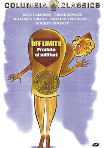 La copertina di Off Limits - Proibito ai militari (dvd)