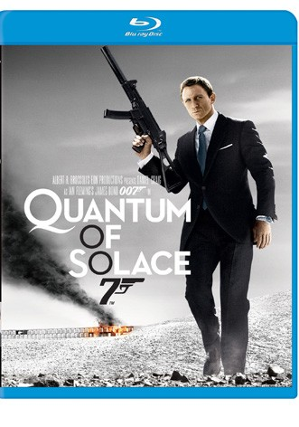 La copertina di Quantum of Solace (blu-ray)