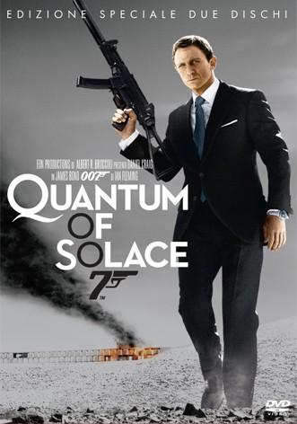 La copertina di Quantum of Solace - Edizione speciale (dvd)
