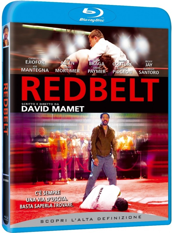 La copertina di Redbelt (blu-ray)