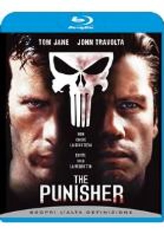 La copertina di The Punisher (blu-ray)