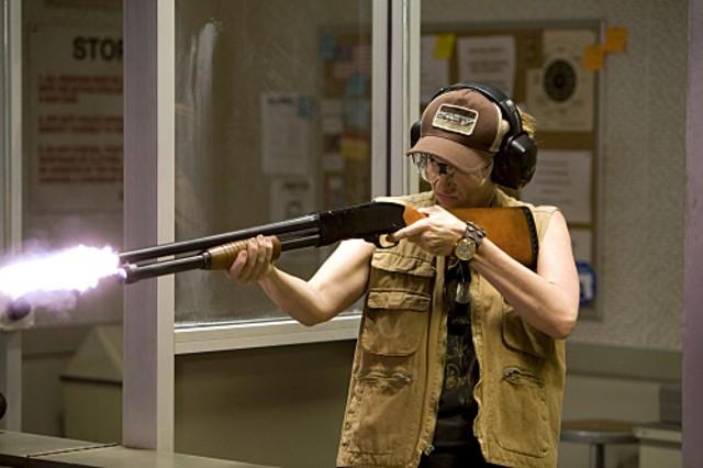 Toni Collette in un momento del pilot de The United States of Tara