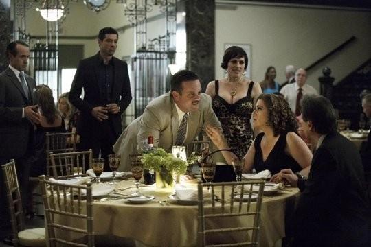Una scena tratta dal film tv Quattro Padri Single