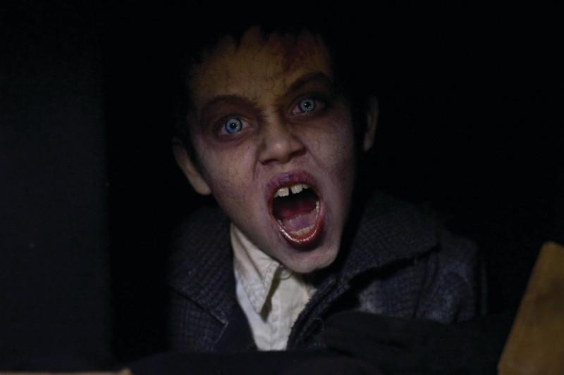 Una scena inquietante del film Il mai nato