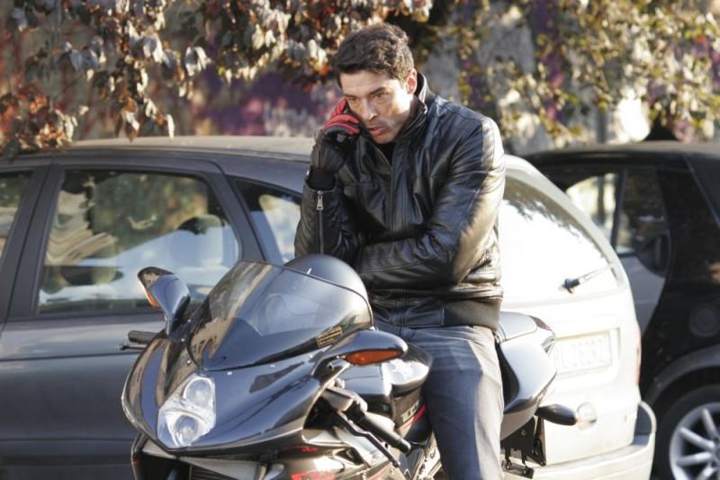 Alessandro Gassman in una scena del film Ex